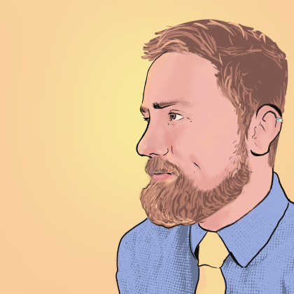 profile (digital painting)
